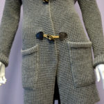 dettaglio cappotto in Cahsmere