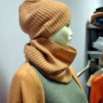 Cappello e Scaldacollo in Cashmere