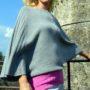 """Maglia """"Pipi"""", bicolor. In puro Cashmere, realizzata da Maglieria MaTi's"""